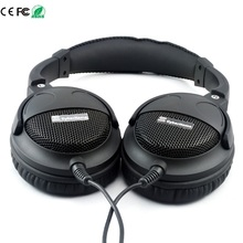 Super Bass Wired Headphone HIFI Sound Headset 40mm Six Speakers Units DIY Headset Grade Fever 3.5mm Earphone Without Microphone