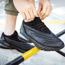 ONEMIX poduszka powietrzna męskie buty do biegania 270 skórzane buty amortyzacja poduszka miękka energia podeszwa środkowa buty do biegania na świeżym powietrzu