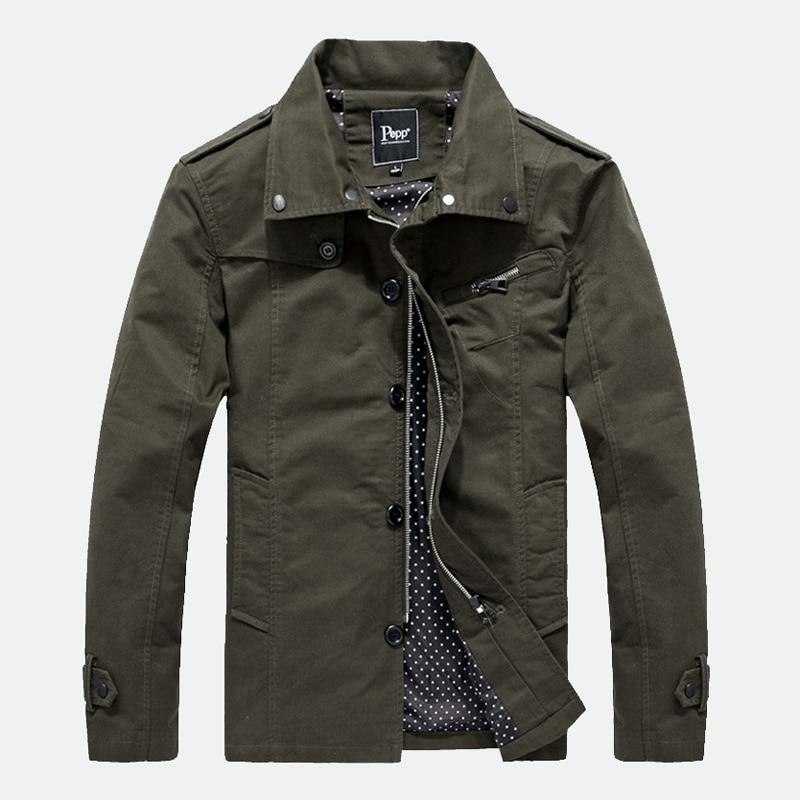 Popular Single Breasted Military Jacket Men-Buy Cheap Single ...