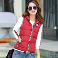 Fashion patchwork 2016 cartoon graphic patterns thickening cotton vest female outerwear waistcoat vest cotton-padded jacket