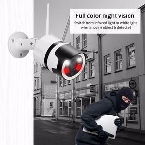Image 5 - 2MP Mini Home Wifi Security Camera Outdoor 1080 P HD Wifi IP Camera Waterdichte IR Nachtzicht CCTV Surveillance Bullet cam