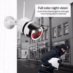 Image 5 - 2MP מיני בית Wifi אבטחת מצלמה חיצוני 1080 P HD Wi Fi IP מצלמה עמיד למים IR ראיית לילה טלוויזיה במעגל סגור מעקבים Bullet מצלמת