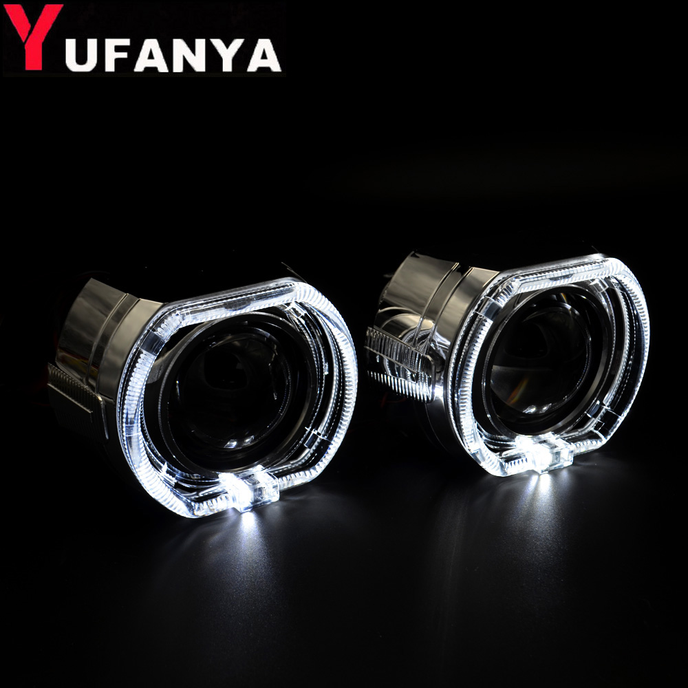 2 5 Inch Mini Bi Xenon Hid Projector Lens For Bmw Drl