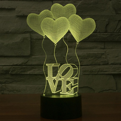 acrylic night light
