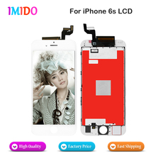 цена на 1PCS Good Quality For iPhone 6S LCD Screen With Touch Digitizer Display Assembly Replacement White Black