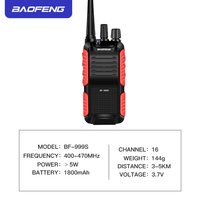 888s שני הדרך רדיו BF-999 שניות פלוס 999 שניות מכשיר הקשר Baofeng 5W 1800mAh UHF 16 ערוץ Long Distance Portable שני הדרך רדיו שדרג BF-888s CB רדיו (2)