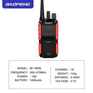 Image 5 - BF999S портативная рация Baofeng 5 Вт 1800 мАч UHF 16 каналов на большие расстояния портативная двухсторонняя рация простая в эксплуатации надежный конмуникатор