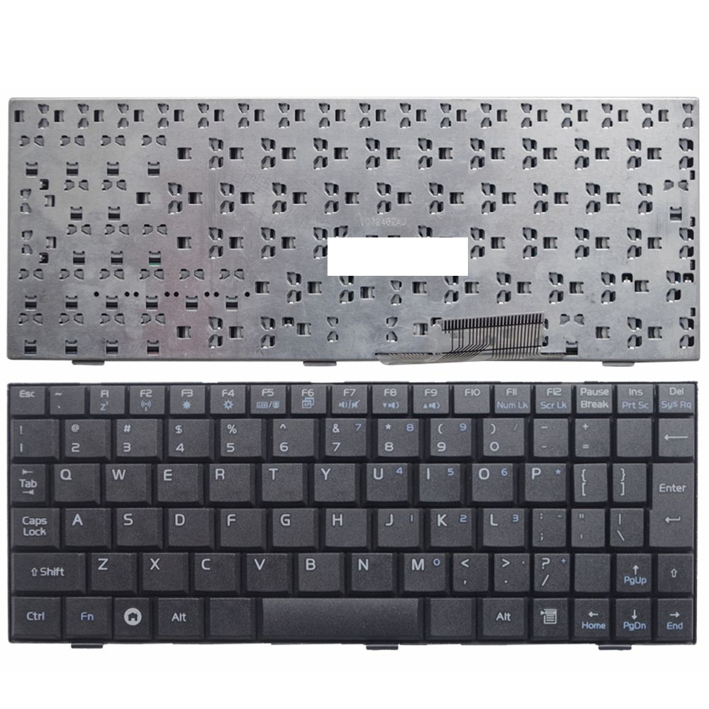 YALUZU English US Laptop keyboard for ASUS EEE PC EPC700 900 701 901 2G 4G 8G EPC 900HD BLACK-in Replacement Keyboards from Computer & Office