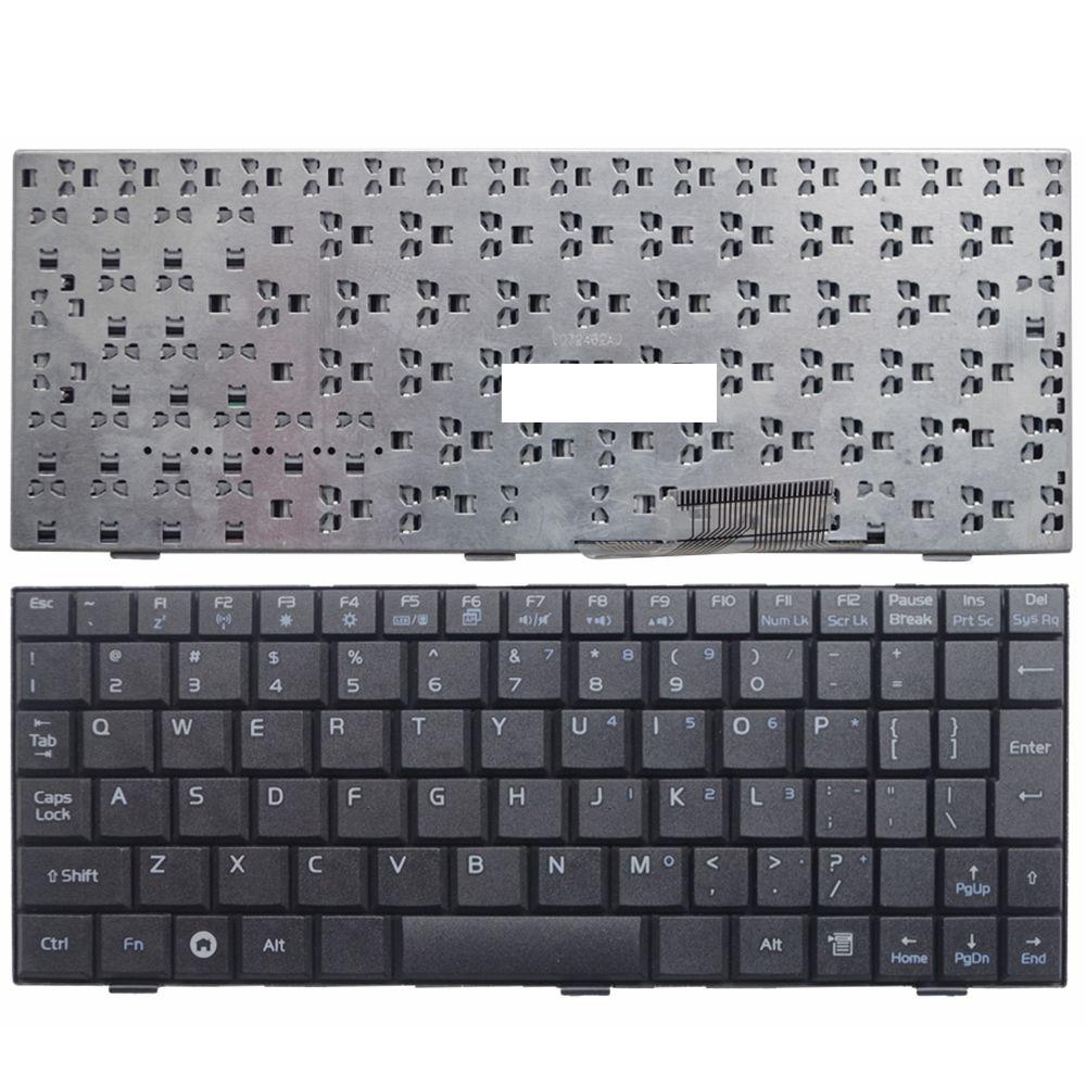 YALUZU English US Laptop Keyboard For ASUS EEE PC EPC700 900 701 901 2G 4G 8G EPC 900HD BLACK