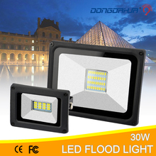Flood Light 10 W 20 W 30 W 50 W 70W 100W lamp Safety IP65 Waterproof 220V Spotlight LED Floodlight Outdoor Light Lamp Garden led ip65 raincoat 10 w 20 w 30 w 50 wled projector lamp light exterior lighting project of flood main 176 264v toughened glass panel