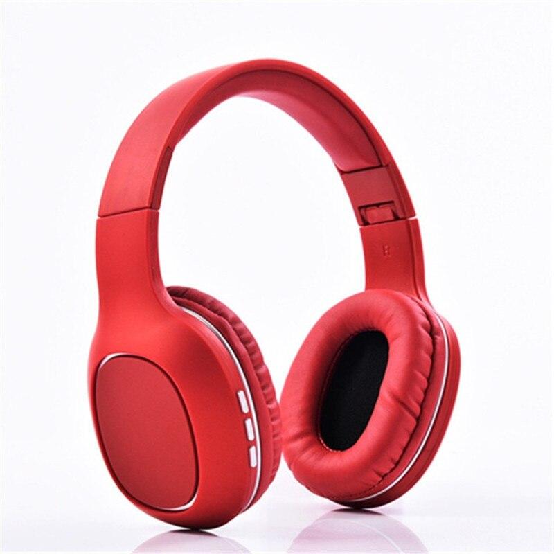 Casque sans fil Bluetooth mains libres avec Microphone Bluetooth écouteur pour Support de téléphone carte TF casque stéréo sans fil