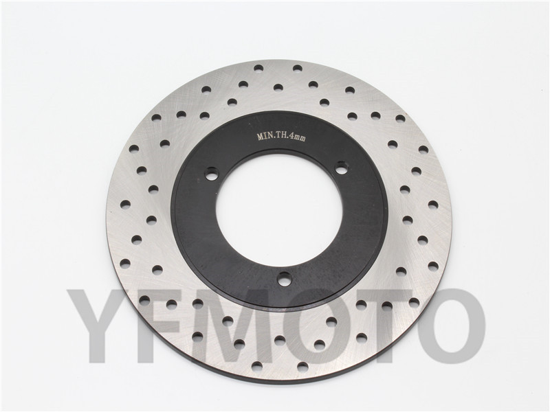 Motorcycle Rear Brake Disc Rotor For YA MAHA YP250 YP 250 Majesty 1998-1999 MBK YP 250 Skyliner 1998-1999  motorcycle brake pads for yamaha rz50 tw125 tw200 yp250 yzf600 yzf1000 r1 mbk yp125 yp250 italjet linhai new