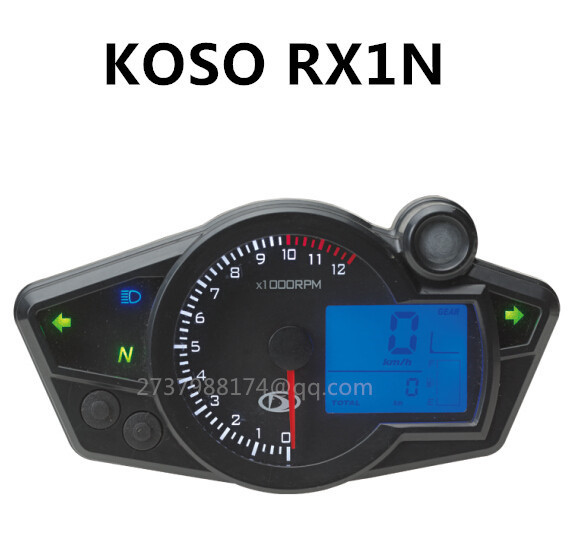 KOSO similar RX1N speedometer 17 18 21 inches wheel size applicable speedometer tachometer
