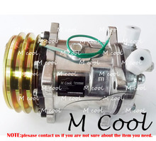 New Automobile AC Compressor For SD508 508 Car A/C Air Conditioning System Repair Parts