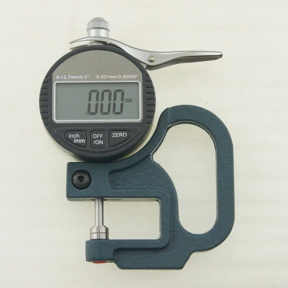 High Precision 0.001mm Digital Thickness Measuring Caliper Micrometer new high precision digital micrometer precision thickness gauge 0 12 7mm 0 001mm paper film fabric tape thickness measurement