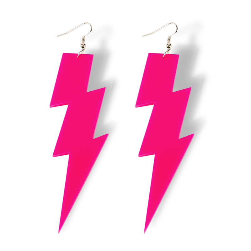 4-Color-New-Arrival-Hiphop-Rock-Lightning-Drop-Earrings-For-Women-Jewelry-Night-Club-Punk-Female (4)