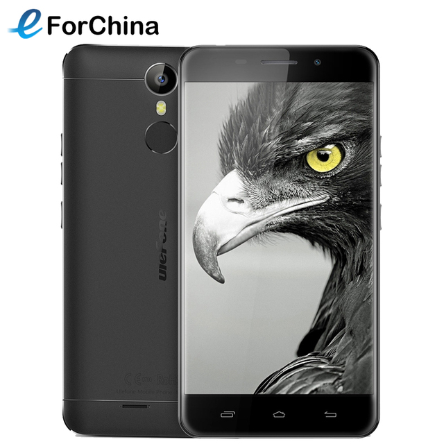 Original Ulefone Metal Lite Phone 5.0 inch Screen Andriod 6.0 MT6580A Quad Core 1.3GHz 16GB ROM 1GB RAM 3G WCDMA Smartphone OTG