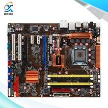 For Asus P5Q PRO Turbo Original Used Desktop Motherboard For Intel P45 Socket LGA 775 DDR2 16G SATA2 USB2.0 ATX
