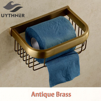Uythner Sanitary Creative Multifunction Antique Paper Towel Basket & Item racks Factory Direct Sales