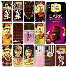 Yinuoda alenka wonka bar alpen oro chocolate funda de teléfono de TPU blanda para xiaomi mi 6 8 se note2 3 mi x2 redmi 5 5plus Nota 4 5