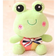 2016 New personalized green beans frog doll plush Christmas Birthday gift baby toys