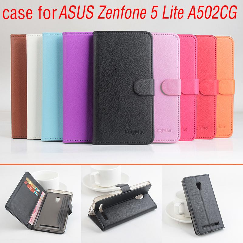 Phone case for Asus Zenfone 5 Lite A502CG About Flip Cover M