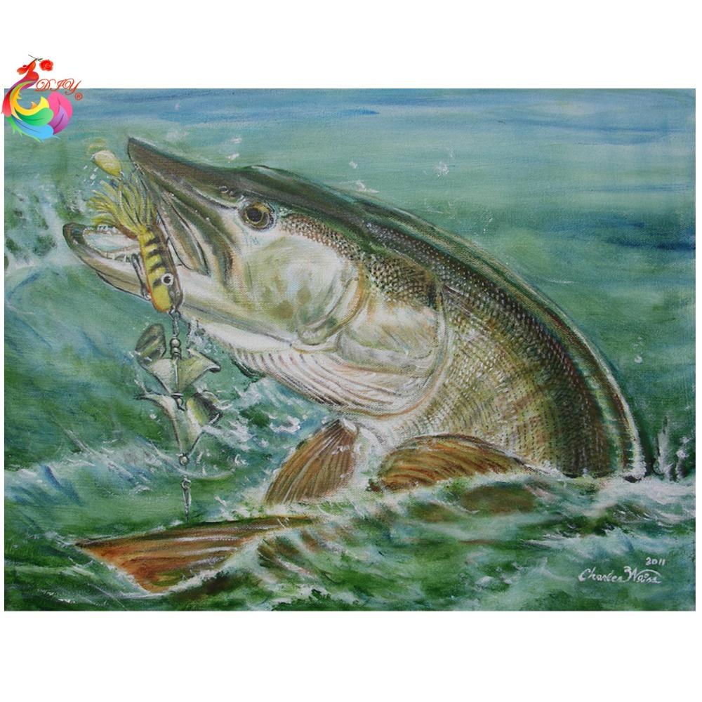 схема вышивки рыбацкая лодка