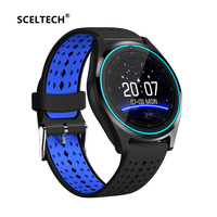 SCELTECH Bluetooth Smart Watch V9 With Camera Smartwatch Pedometer Health Sport Clock Hours Men Women Smartwatch