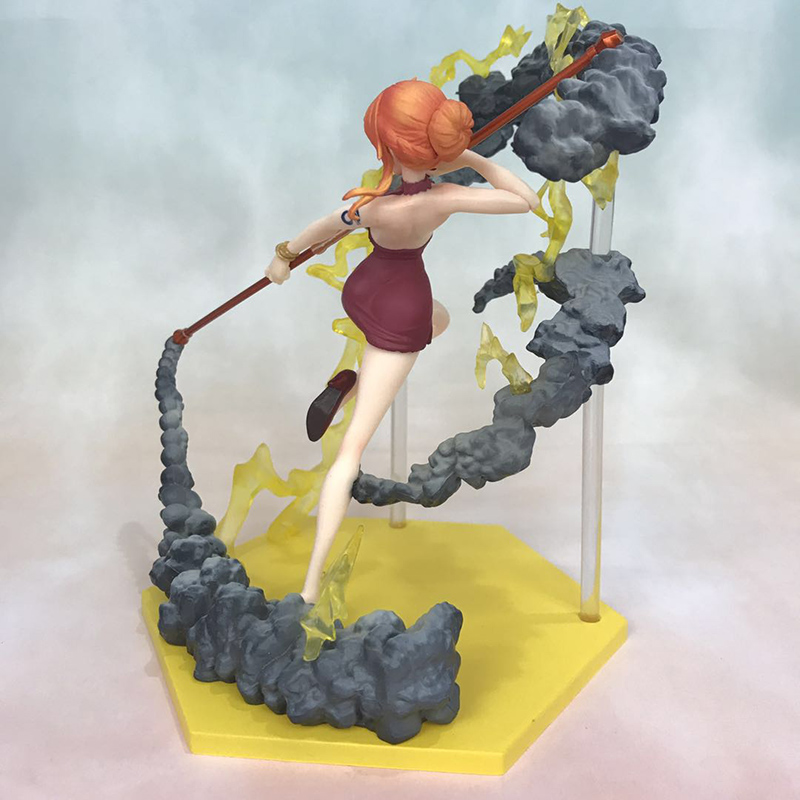 Anime One Piece Fighting Ver. Nami Action Figure 1/8 scale figure Extra Battle Fgiure Toy no retail box (Chinese Version) 4