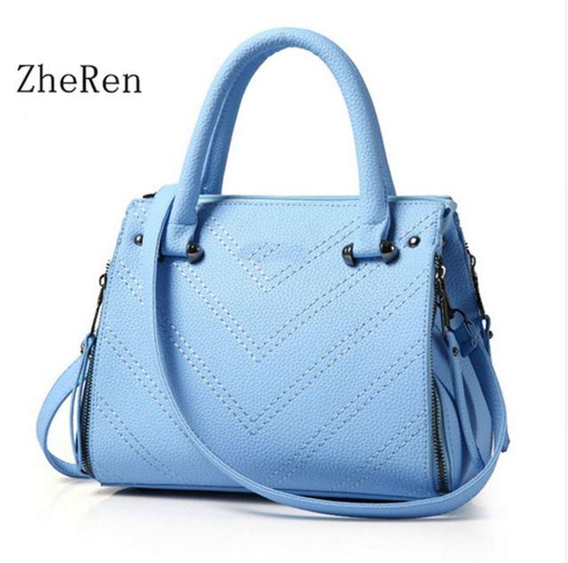 2016 Autumn and Winter New Hot Sale Handbag Shoulder Bag Messenger Bag with Single Interior Slot Pocket Medium 30cm-50cm