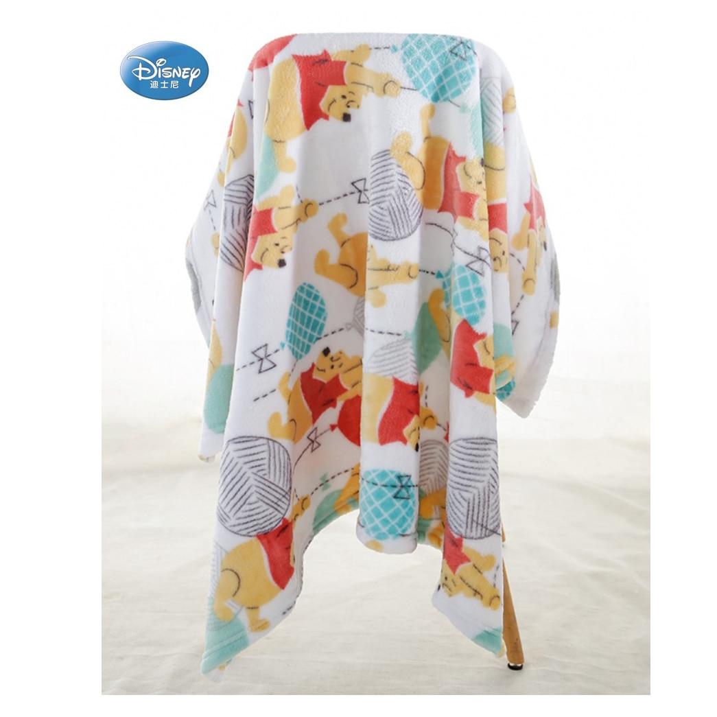 Super Soft Warm Winnie Minnie Mouse Mermaid Ariel Baby Toddler Boys Girls Coral Fleece Plush Blanket Throw 76x100cm