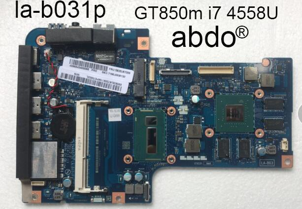 Abdo ZAA50/70 LA-B031P motherboard Lenovo A540 A740 All-in-one machine AIO 27-inch Laptop motherboard i7-4558u CPU GeForce 850A