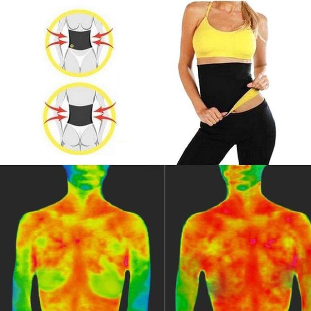 Fitness Women Slimming Waist Belts Neoprene Body Shaper Training Corset Cincher Trainer Weight Loss Burn Exercise Sweat Bodysuit 4