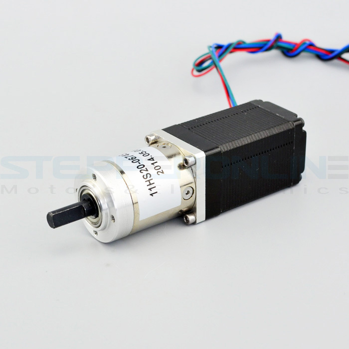 Nema 11 Geared stepper motor gear ratio 19:1 0.67A 1.8 deg stepper gear Planetary Gearbox motor 30.3*30.3*86mm