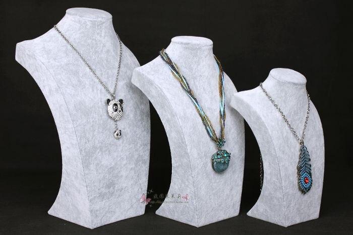 Nouveau buste de mode Mannequin cou forme bijoux collier affichage Mannequin buste en vente