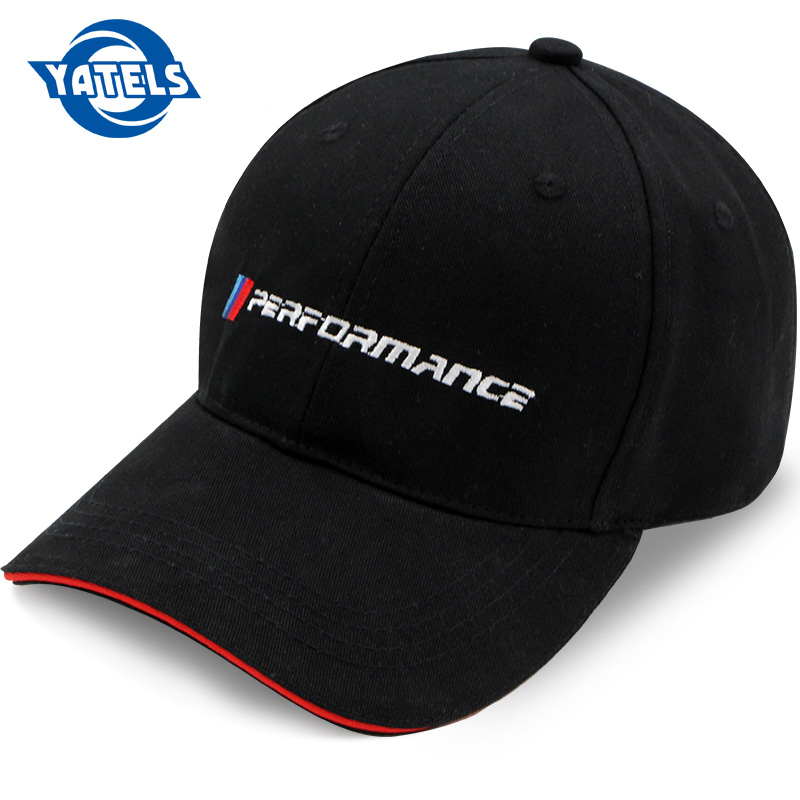 New Products Car Stying Fashion Cotton Car New Logo Performance Hat For Bmw M3 M5 3 5 7 X1 X3 X4 X5 X6 330i Z4 GT 760li E30 E34