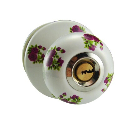 Ceramic lock the door when indoor European ball lock hold hand lock copper core  S-009 vicky ward the liar s ball