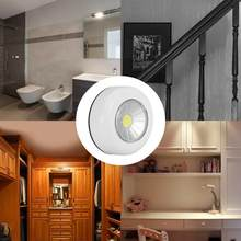 Led Light 2PCS Indoor Cabinet Light COB Emergency Lamp Mini Night Light with Remote Control for Home Bedroom High Bright(China)