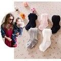 Bebê collants de algodão sólida menina meia-calça de lotação crianças calças justas da criança cuecas do bebê recém-nascido roupa das crianças 2017
