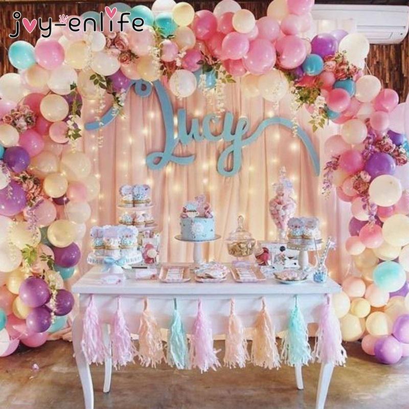 5m Transparent Rubber Chain Helium Balloons Decorations Wedding PVC Arch Decors
