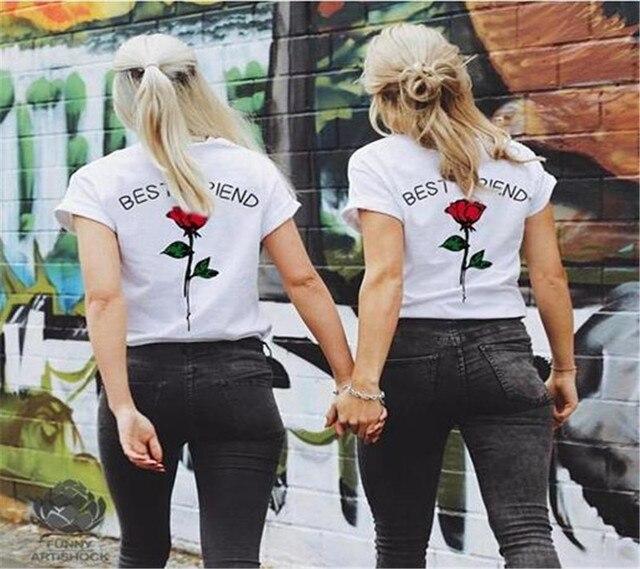 e4b78bd8964 best friend Letter Women T Shirt Girl Power Aesthetic Feminism Feminist  Tumblr Tshirt Hipster Grunge Instagram