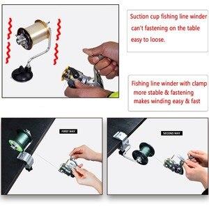 Image 2 - Fishing Line Spooler With Clamp Fishing Reel Line Spool Spooler System Tackle Fishing Line Winder Sea Carp Fishing Tools