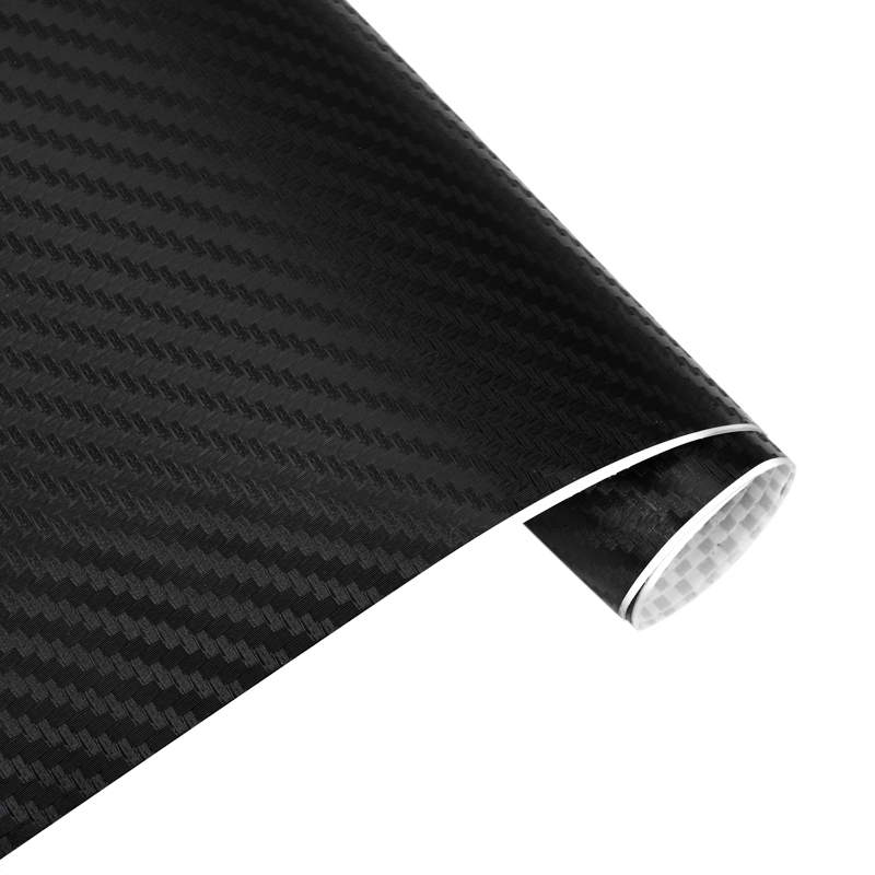 Vexverm Car Sticker 3D Carbon Fiber Vinyl Wrap Sheet Roll Film Car Wrap Decals