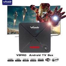 Vmade UHD 4K Mini TV Box Andorid 7.1 OS Octa Core 2g16g Support 1.5ghz WIFI Google Netflix IPTV Smart Media Player Set Top Box