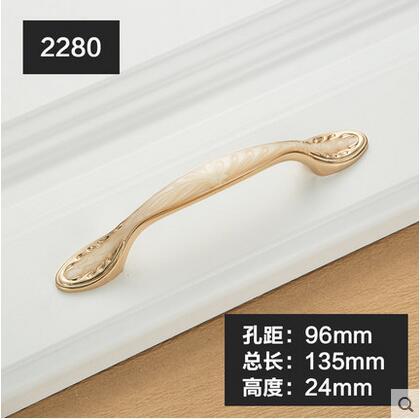Furniture Knobs European Cabinet Knobs and Handles Simple Kitchen Handles Drawer Pulls Door Handles YJ2280 1pc simple european aluminum alloy ivory white door handles