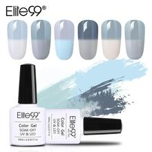Elite99 10ml Gray Temperature Color-changing Gel Polish Soak Off Chameleon Gel Nail Polish Semi Permanent Nail Art Design Polish