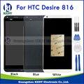 Negro blanco azul para htc desire 816 816g 816 h 816 w LCD Panel del Digitizador de la Pantalla Táctil Sreen Asamblea + Bisel Del Capítulo del Envío herramientas