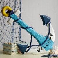 Mediterranean Home Furnishing classical decoration wall decoration wall anchor anchor marine wind craft ornament
