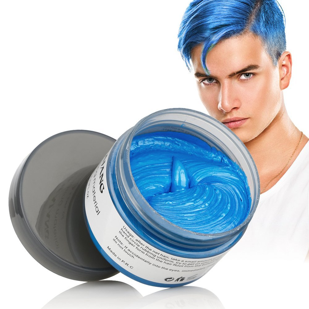 Mofajang 7 Colors Disposable Hair Color Wax Dye One Time Molding