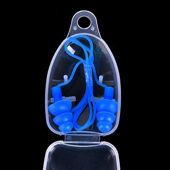 8 kolorów uniwersalne miękkie silikonowe zatyczki pływackie do uszu zatyczki do uszu akcesoria do basenów sporty wodne pływać zatyczka do uszu 1 para tanie i dobre opinie JETTING Swimming Ear Plug piece 0 01kg (0 02lb ) 1cm x 1cm x 1cm (0 39in x 0 39in x 0 39in)